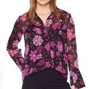 NWT Kut from the Kloth long sleeve button down top